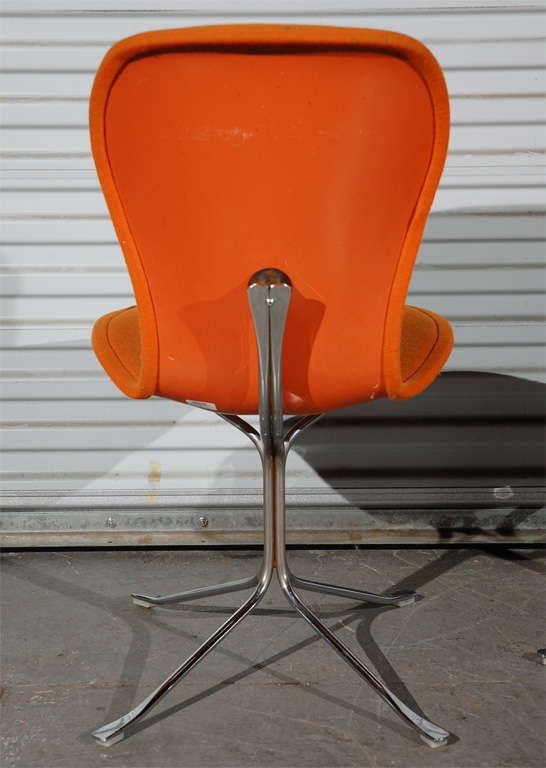 American Pair of Ion Chairs For Sale