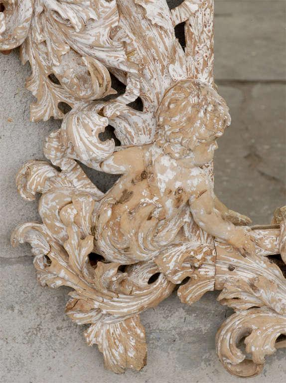 18th Century Carved Mirror  In Good Condition For Sale In Atlanta, GA