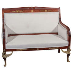 French Empire Settee