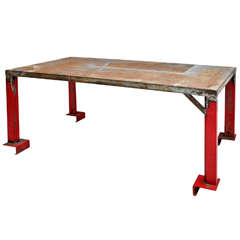Industrial Dining / Work Table