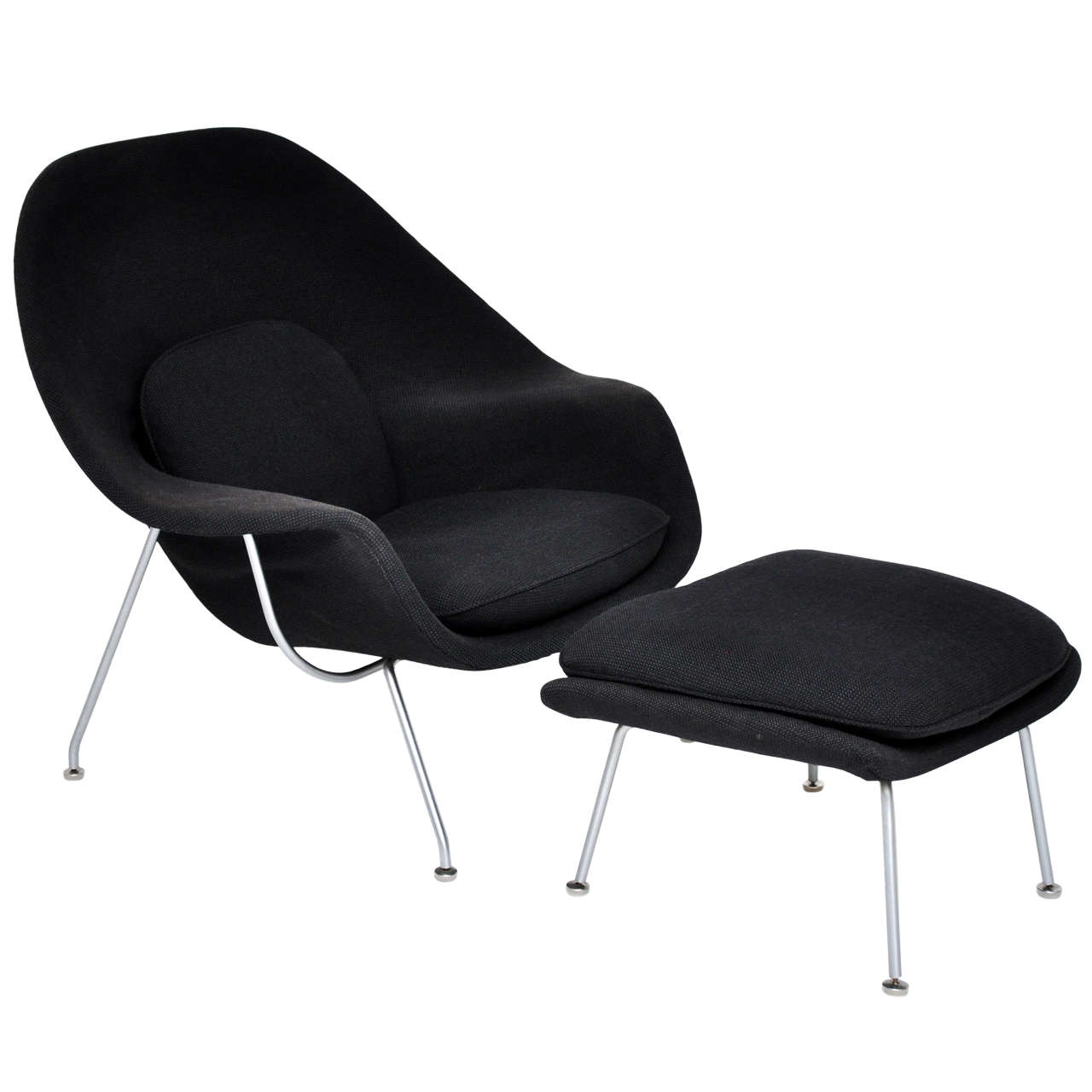 Eero saarinen womb chair for knoll at 1stdibs - Vintage womb chair for sale ...