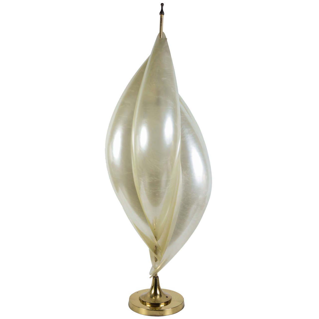 unusual table lamp by rougiers for sale at 1stdibs
