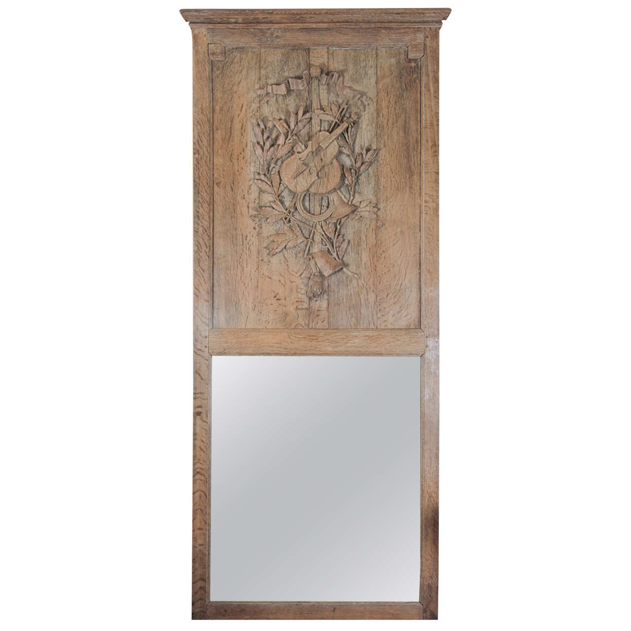 French 18th Century Trumeau Mirror
