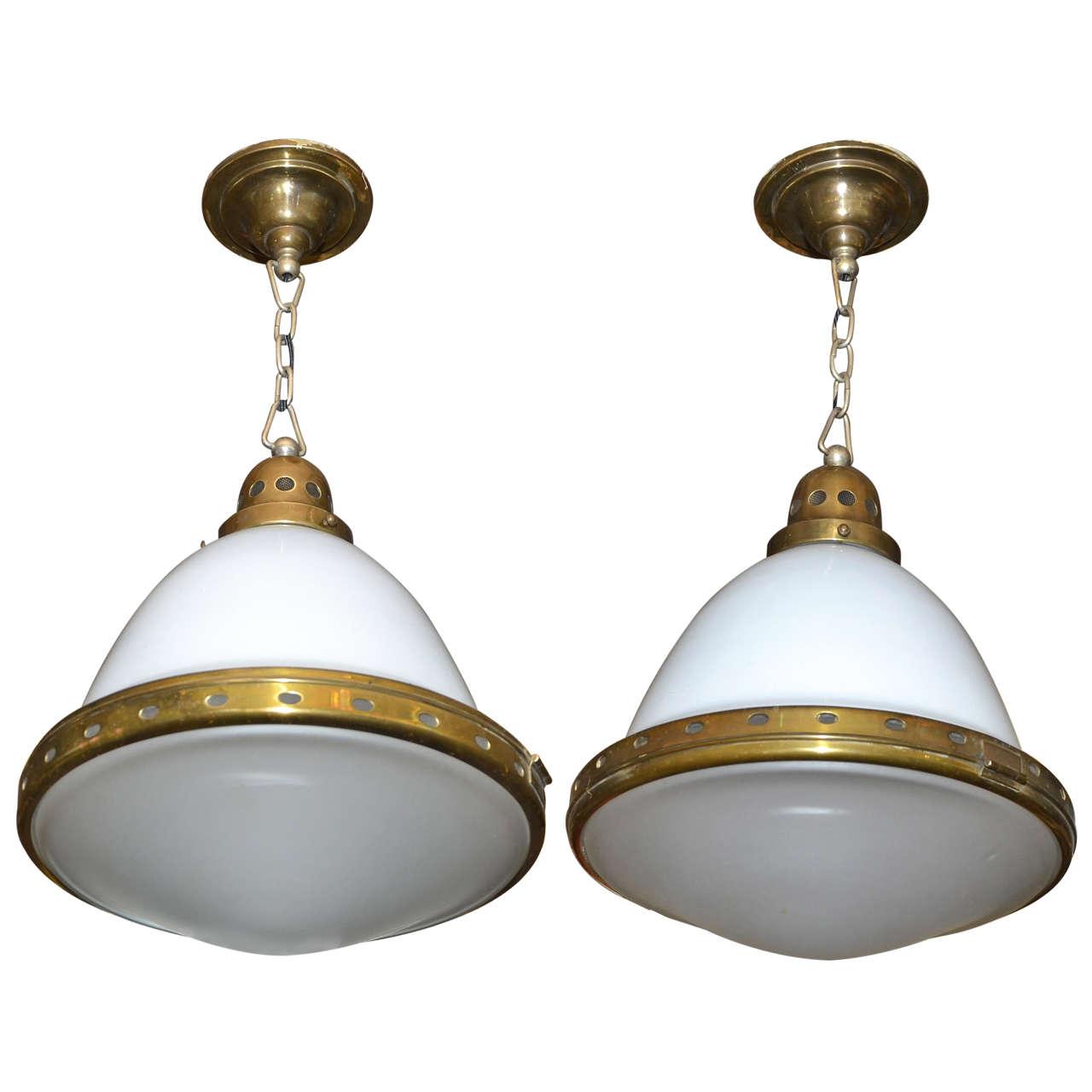 Pair Of Lanterns Lights Circa 1900 At 1stdibs