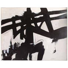 "Original Acrylic Painting by Argentine Artist Karina Gentinetta (60"" x 40"")"