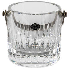 Cut Lead Crystal Ice Bucket by Saint Louis France