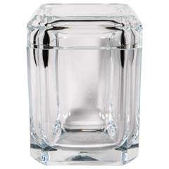 Lucite Cube Ice Bucket