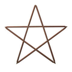 Wooden Star Wall Hanging