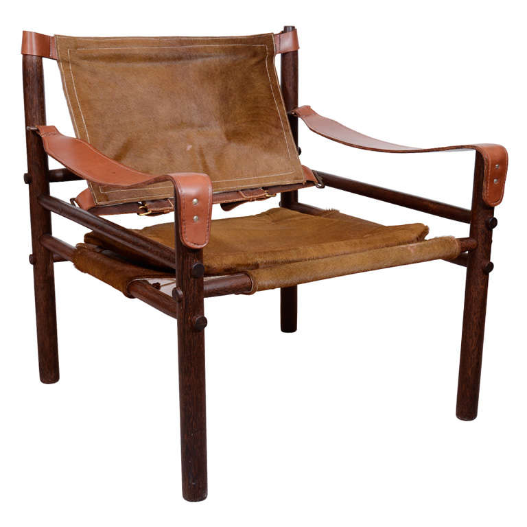 Mid Century Sirocco Armchair by Arne Norell For Sale