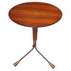 Diminutive Danish Teakwood Side Table