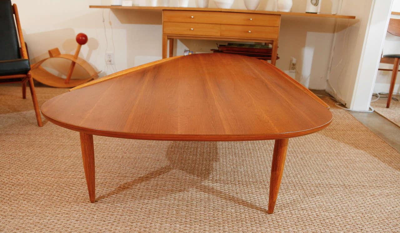 Lane Atomic Boomerang Coffee Table At 1stdibs