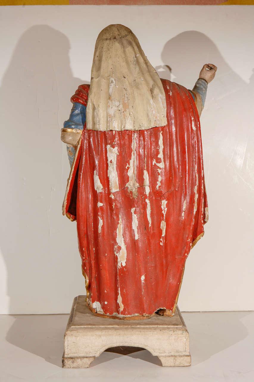 Early 18th Century, Italian Santos Figure For Sale 3