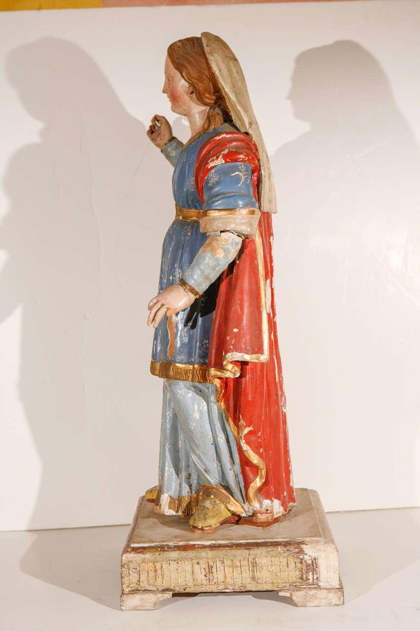 Early 18th Century, Italian Santos Figure For Sale 4