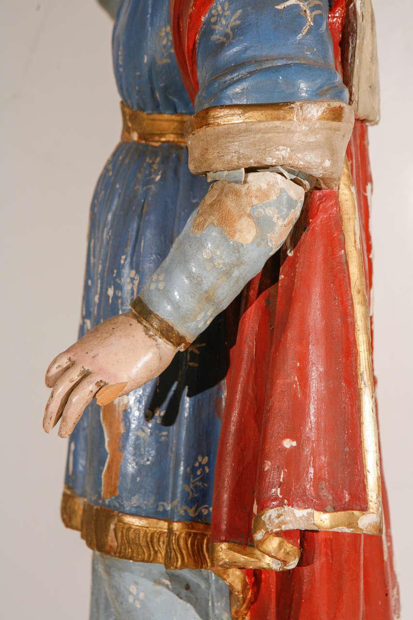Early 18th Century, Italian Santos Figure For Sale 5