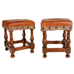 Tuscan, Walnut Footstools