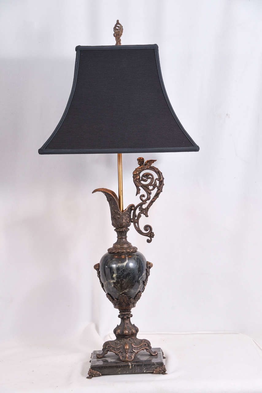 Reproduction Of Antique Ewer As A Table Lamp For Sale At 1stdibs