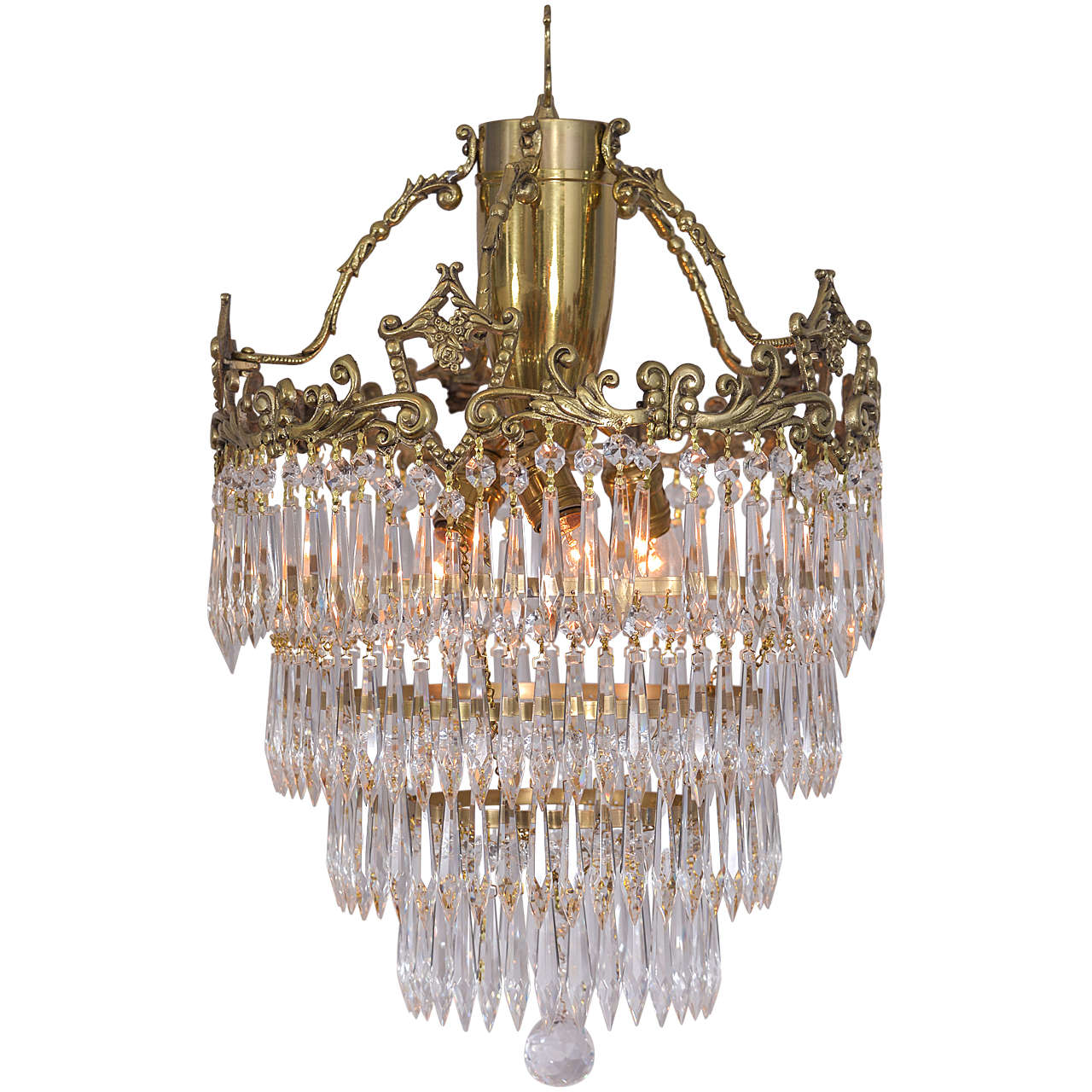 Crystal chandeliers austin tx chandelier designs crystal chandelier with wedding cake design and a lovely cast brass arubaitofo Gallery