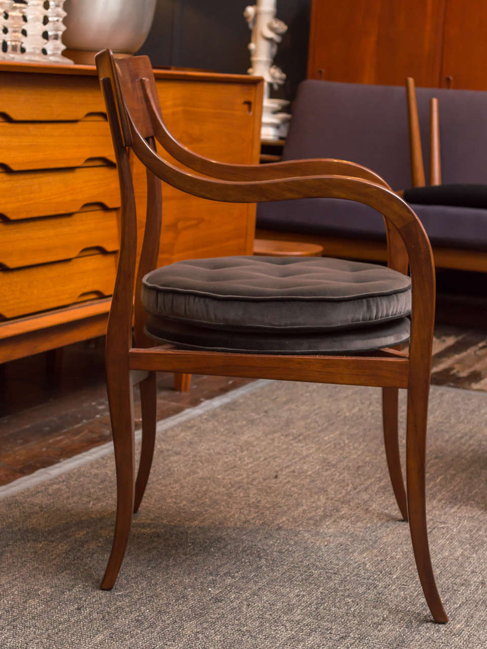 Alexandria Chair by Edward Wormley for Dunbar Furniture Co. 3