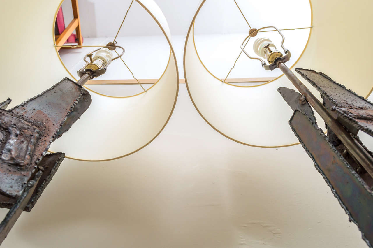 Brutalist Lamps by Laurel Lamp Company For Sale 3