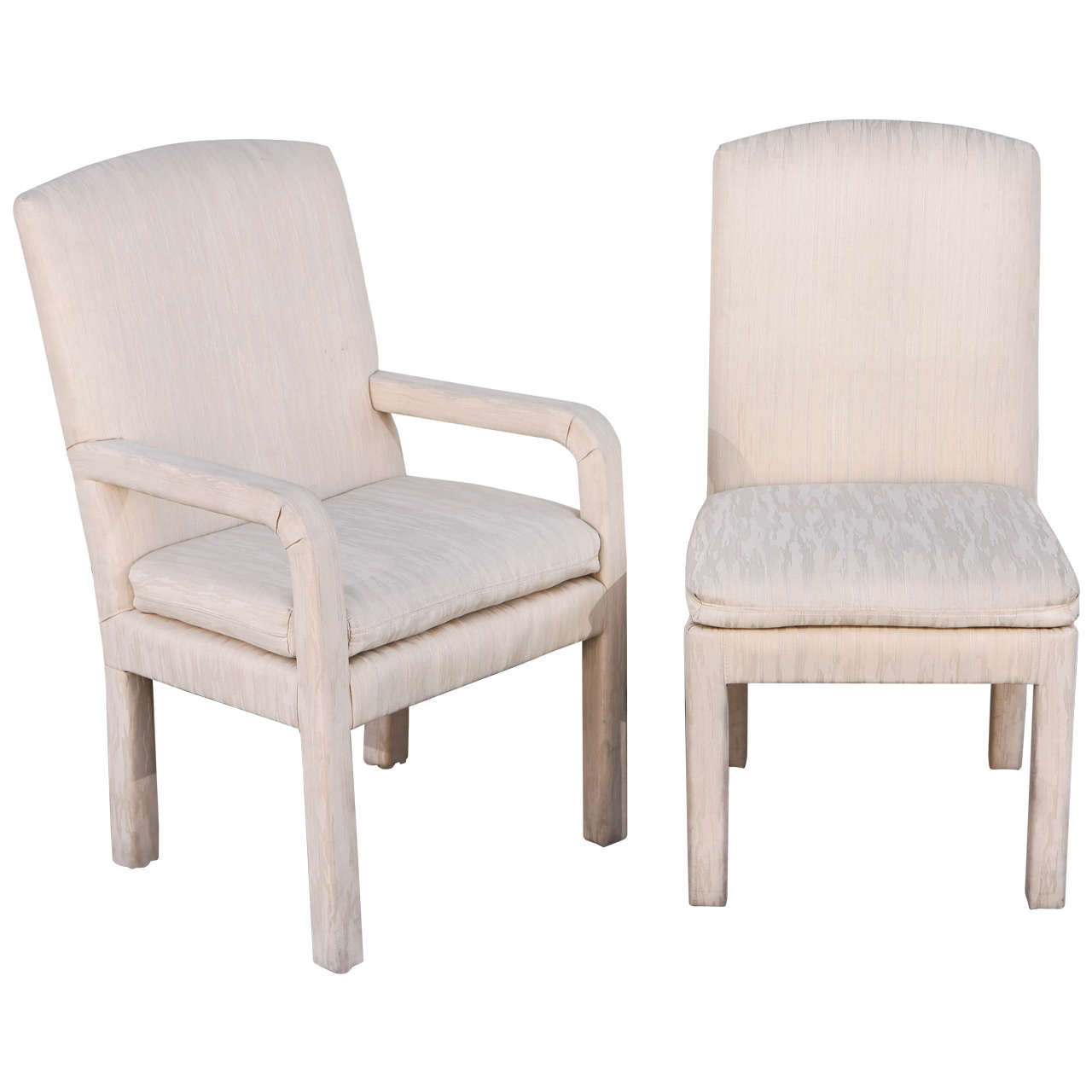 Milo Baughman Arm And Dining Chairs For Sale At 1stdibs