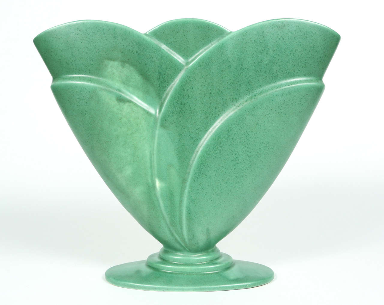 Royal Haeger Fan Vase At 1stdibs