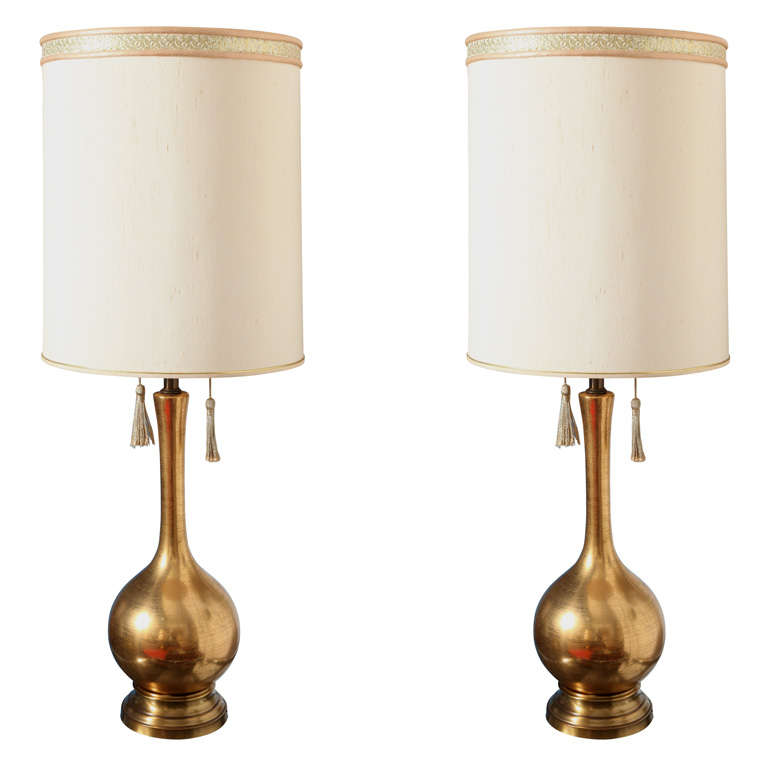 Hollywood Glam Gold Lamps For Sale At 1stdibs