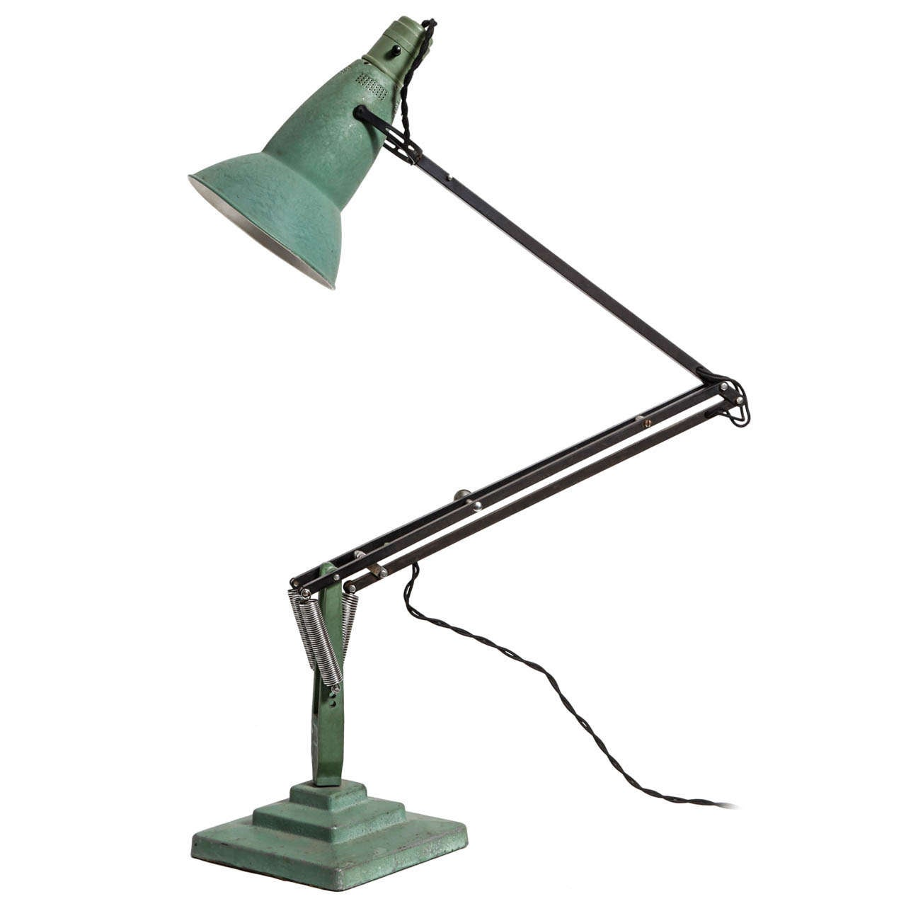 table lamp anglepoise by george carwardine at 1stdibs. Black Bedroom Furniture Sets. Home Design Ideas