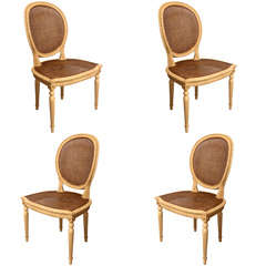 Set of Four Trianon Side Chairs by Patina