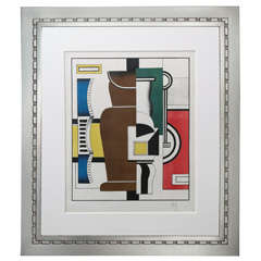 Fernand Léger 'Le Vase' Lithograph in Colors