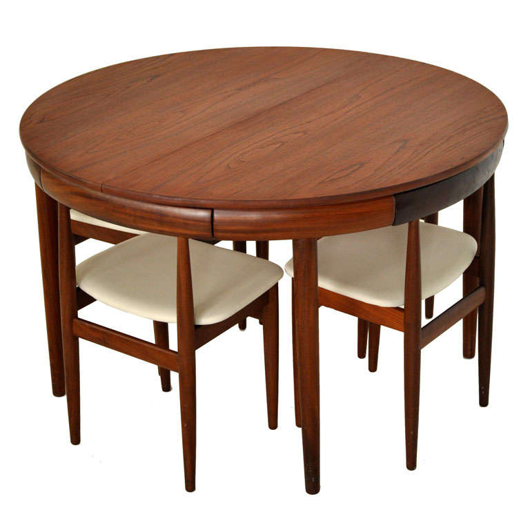 hans olsen teak dining set at 1stdibs