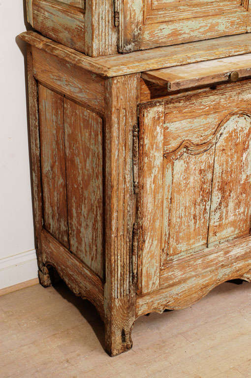 Louis XV Buffet Deux Corps For Sale 1