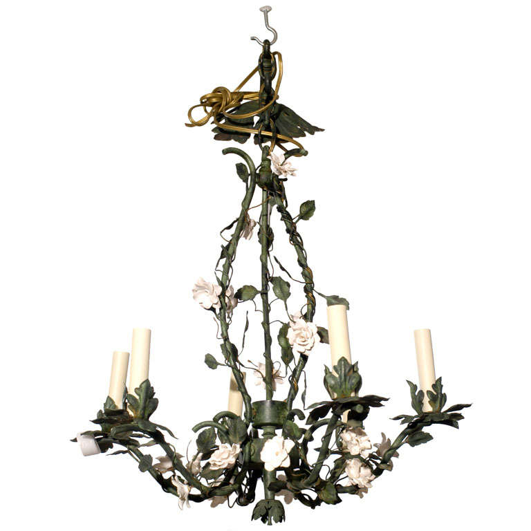 Painted Chandelier 1