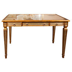 Mirrored Writing Desk by Theodore Alexander