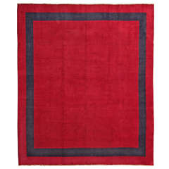 Open Fleld Red Persian Mid-Century Modern Amoghli Workshop Oversize Rug
