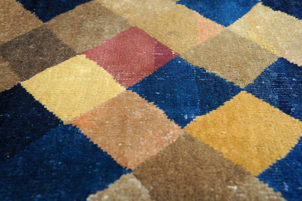 Carpet with Polychrome Lozenges 2