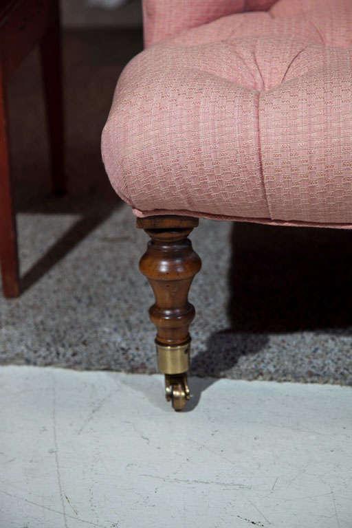 Victorian Walnut Slipper Chair-Edward Ferrell LTD image 5