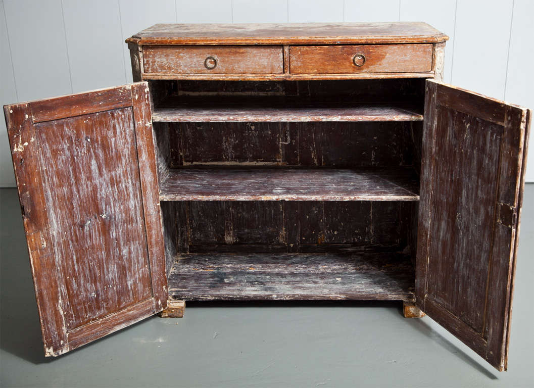 Gorgeous Gustavian Late 18th Century Sideboard In Excellent Condition For Sale In Mt Kisco, NY