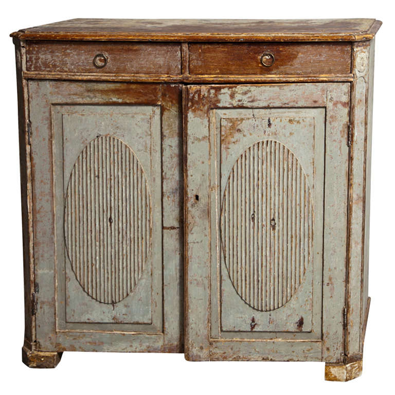 Gorgeous Gustavian Late 18th Century Sideboard For Sale
