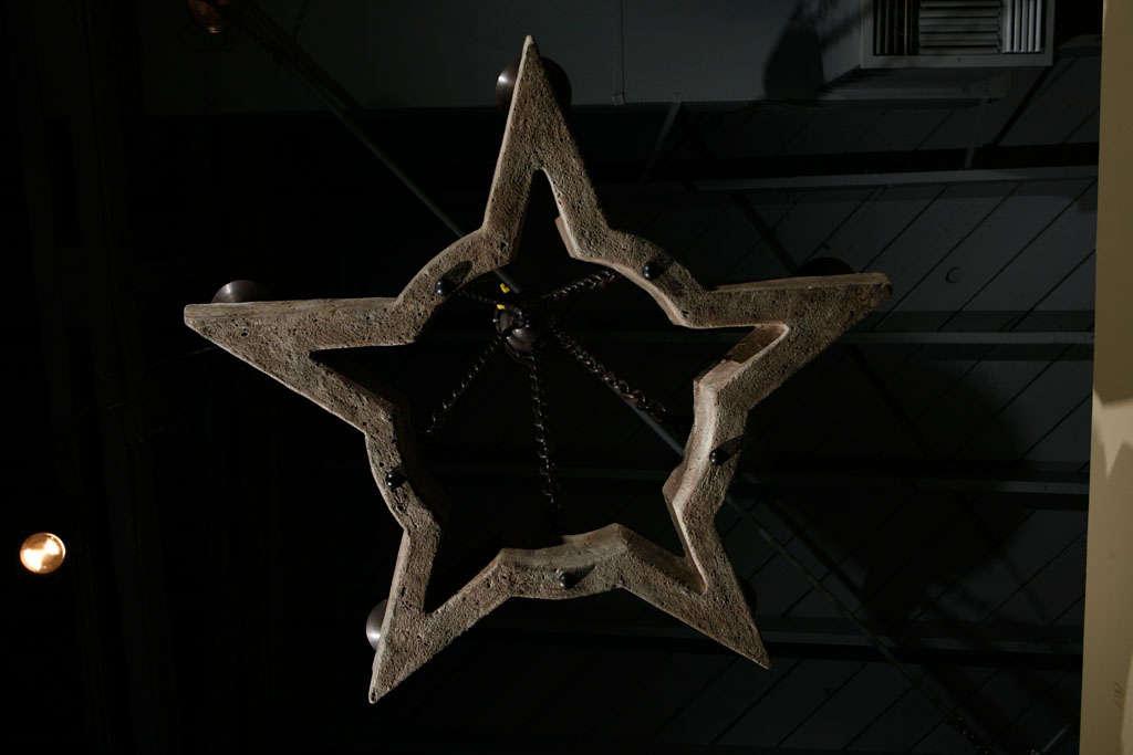 Paul Marra Star Chandelier For Sale 2