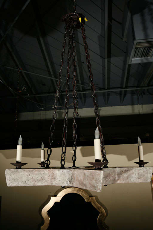 Contemporary Paul Marra Star Chandelier For Sale