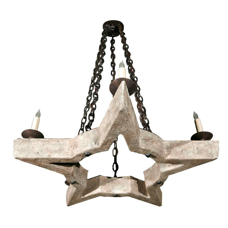 Paul Marra Star Chandelier