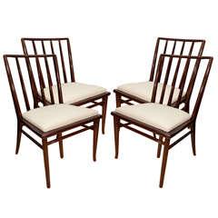 T. H. Robsjohn-Gibbings Dining Room Chairs for Widdicomb