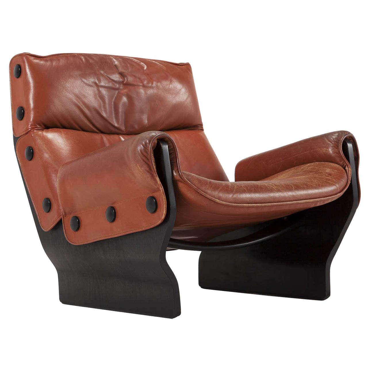 Osvaldo Borsani u0027Canadau0027 Lounge Chair in Original Cognac Leather 1  sc 1 st  1stDibs & Osvaldo Borsani u0027Canadau0027 Lounge Chair in Original Cognac Leather ... islam-shia.org