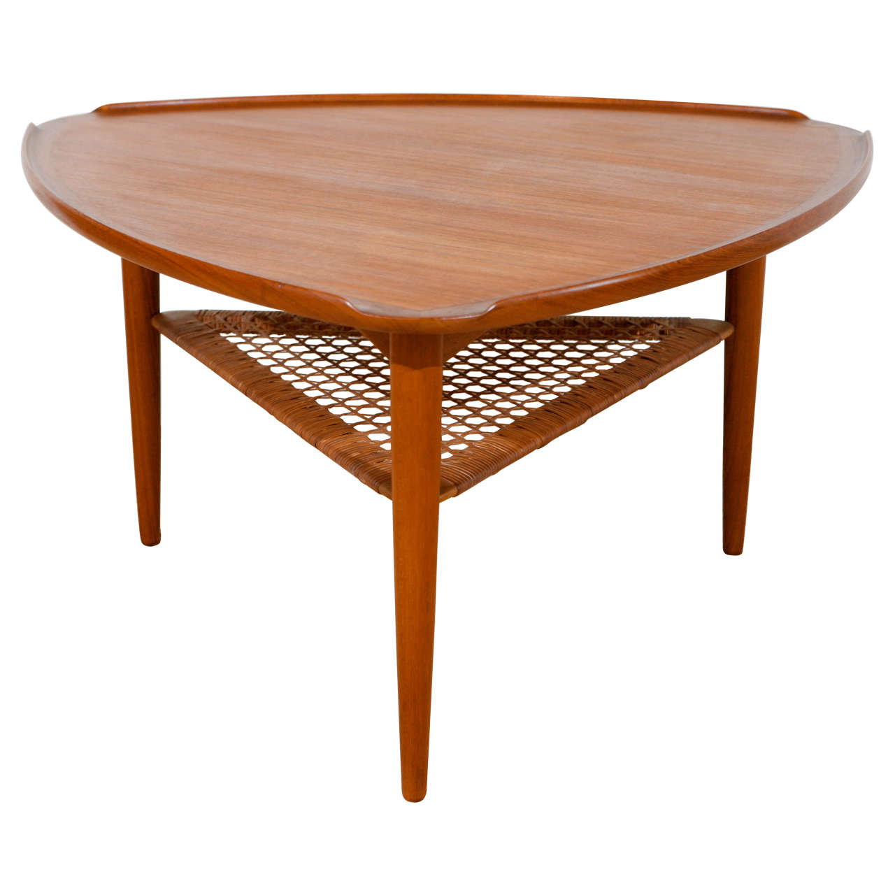 poul jensen guitar pick coffee table at 1stdibs. Black Bedroom Furniture Sets. Home Design Ideas