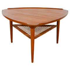 Vintage Rattan Garden Table Set At 1stdibs