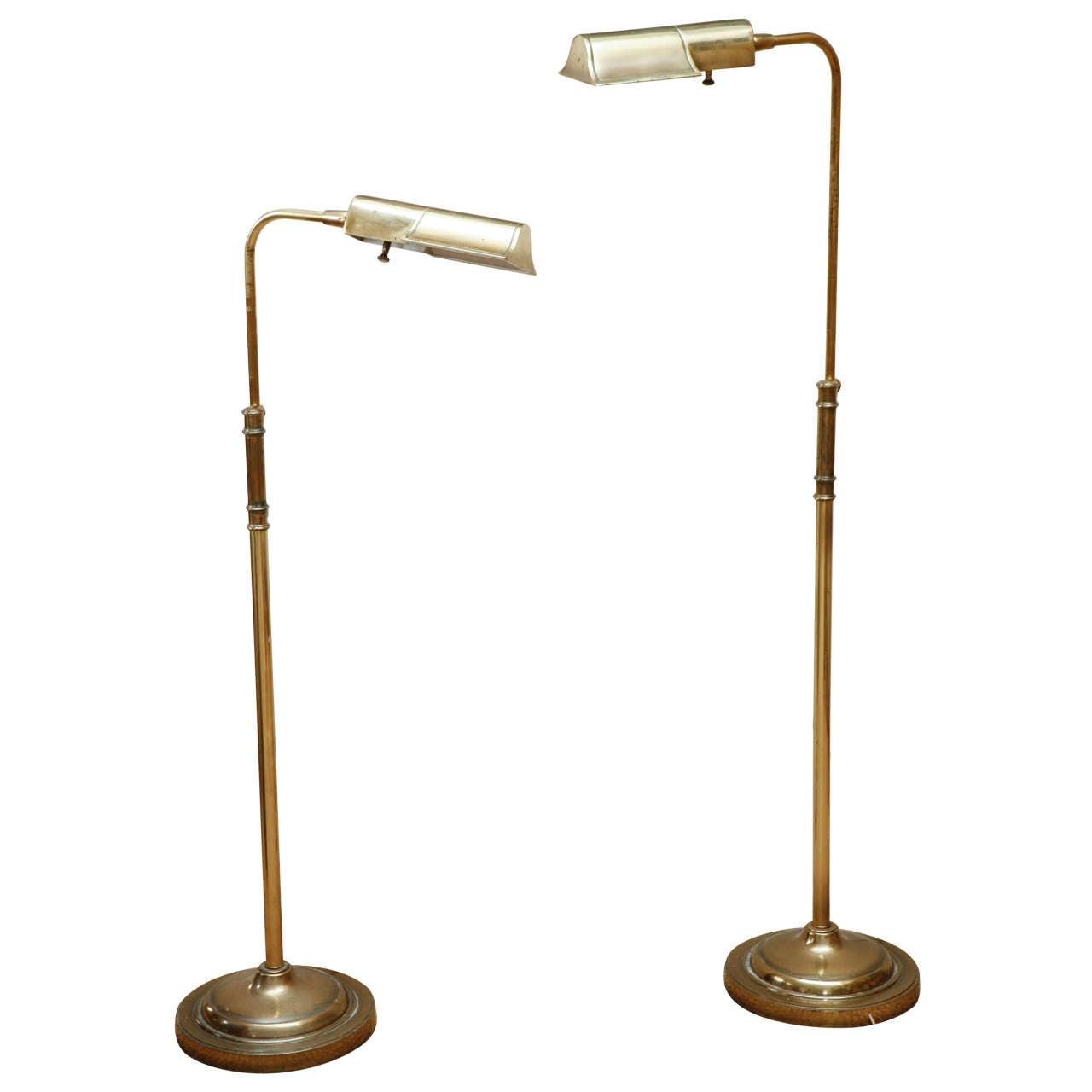 Vintage stiffel task lamps at 1stdibs for Task lighting floor lamp