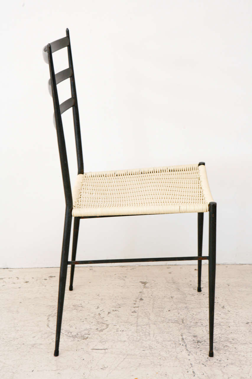 Set Of 12 Superleggera Chairs In The Style Of Gio Ponti For Sale 2