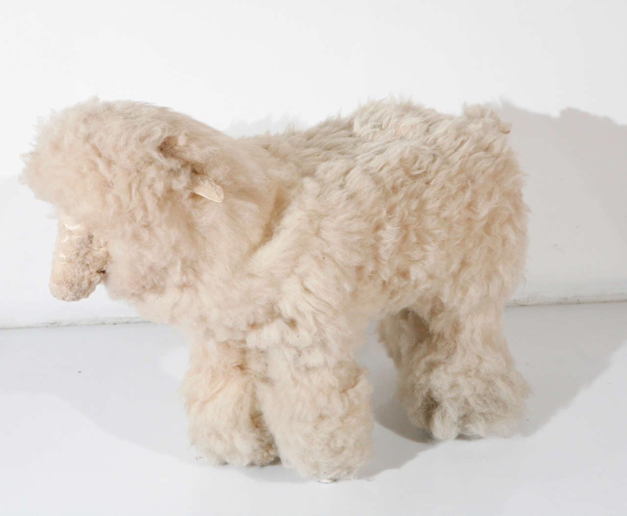 Sheep Sculpture Ottoman In The Manner Of Lalanne For Sale