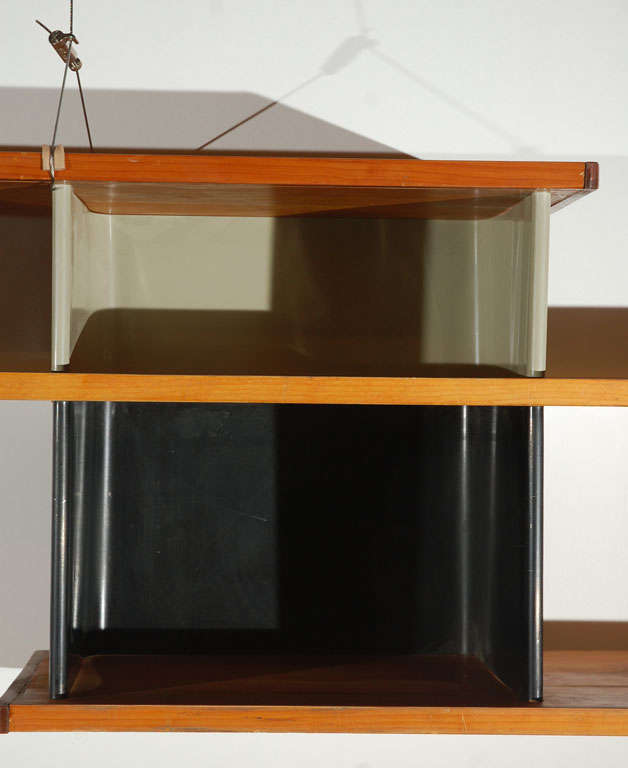 Jean prouve charlotte perriand hanging cabinet at 1stdibs - Etagere charlotte perriand ...