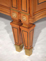 Magnificent Large Neoclassical Style French Walnut Sideboard thumbnail 8